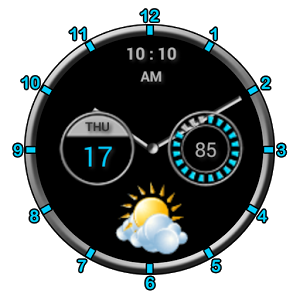 Super Clock +Weather Free