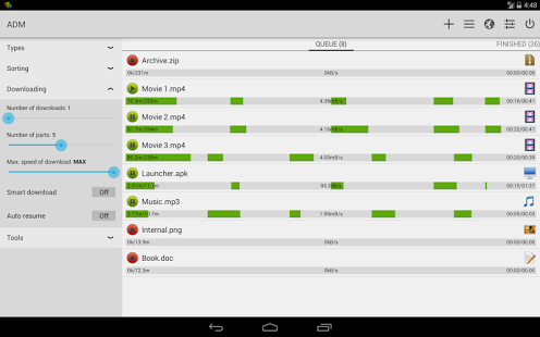 Advanced Download Manager Pro » Apk Thing - Android Apps