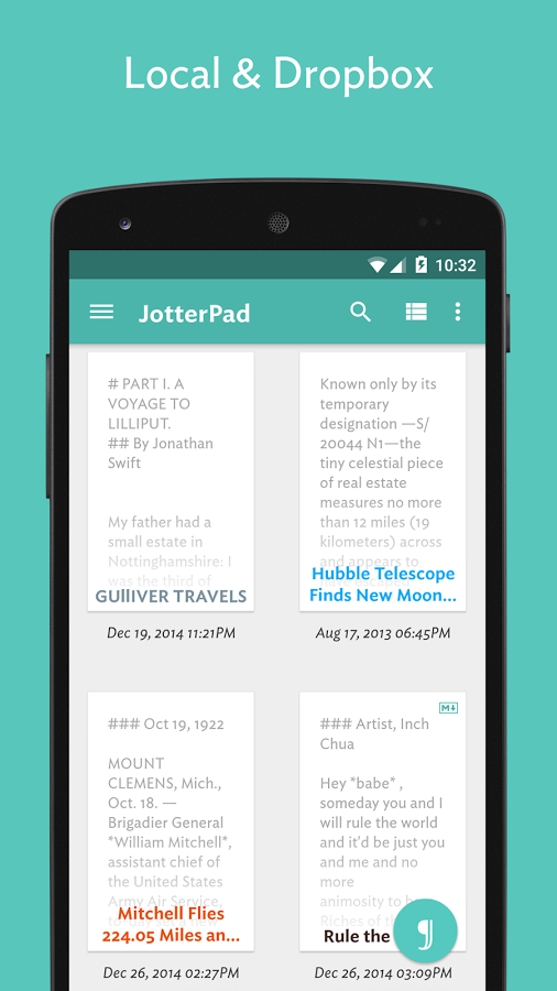 JotterPad (Writer) » Apk Thing - Android Apps Free Download