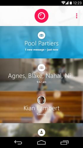 Skype Qik: Group Video Chat