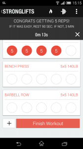 StrongLifts 5x5 Workout