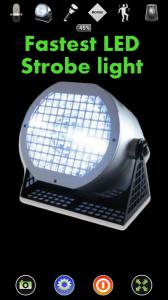 Disco LightTM LED Flashlight