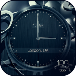 Black clock live wallpaper PRO » Apk Thing - Android Apps