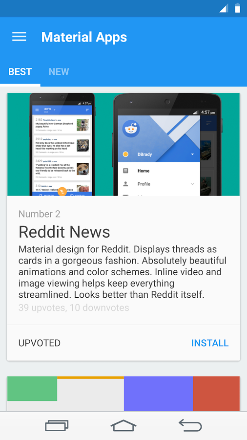 Material design apps apk thing android free download