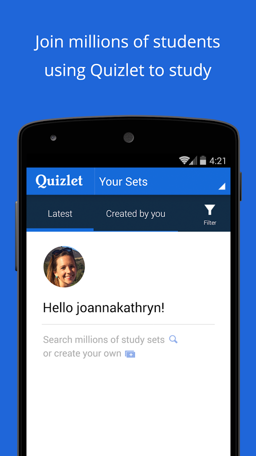 Download Quizlet for Android - free - latest version