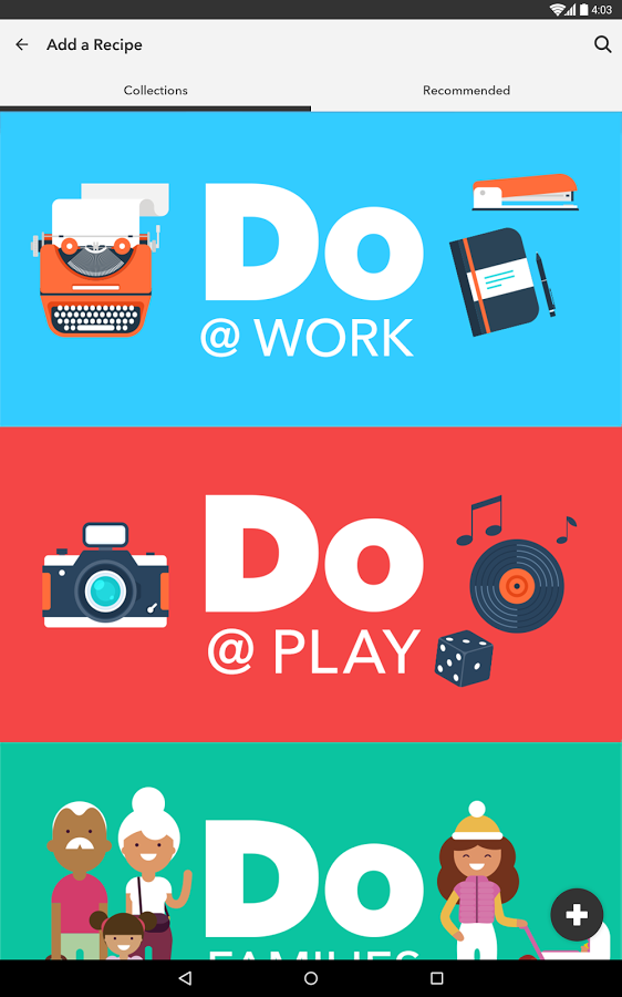 Do Button by IFTTT » Apk Thing - Android Apps Free Download