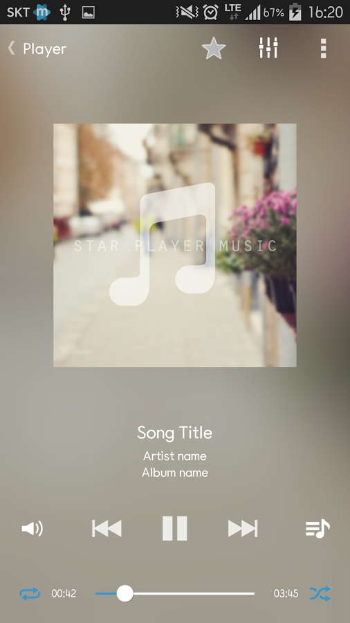 Star Music Player » Apk Thing - Android Apps Free Download