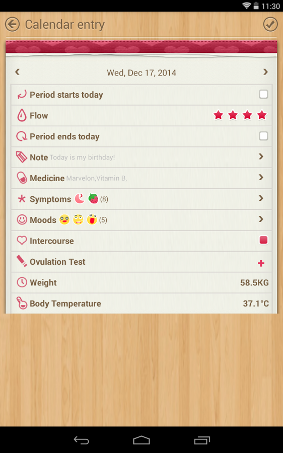 period calendar    tracker  u00bb apk thing