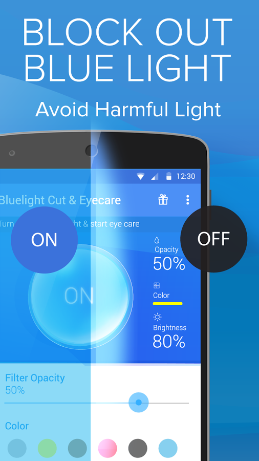 Great ... Blue Light Filter For Eye Care
