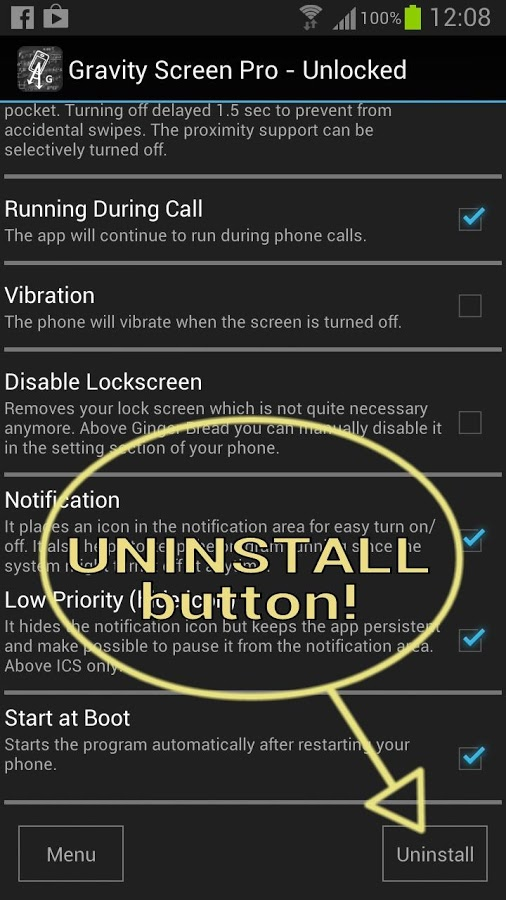 Gravity Screen - On/Off » Apk Thing - Android Apps Free Download