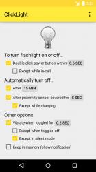 ClickLight Flashlight
