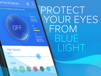 Blue Light Filter for Eye Care