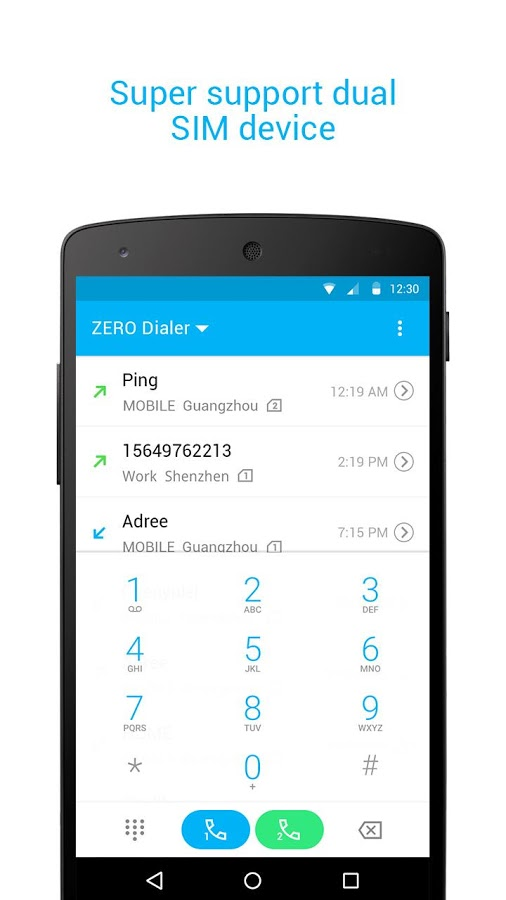 zero dialer contacts block 187 apk thing android apps free
