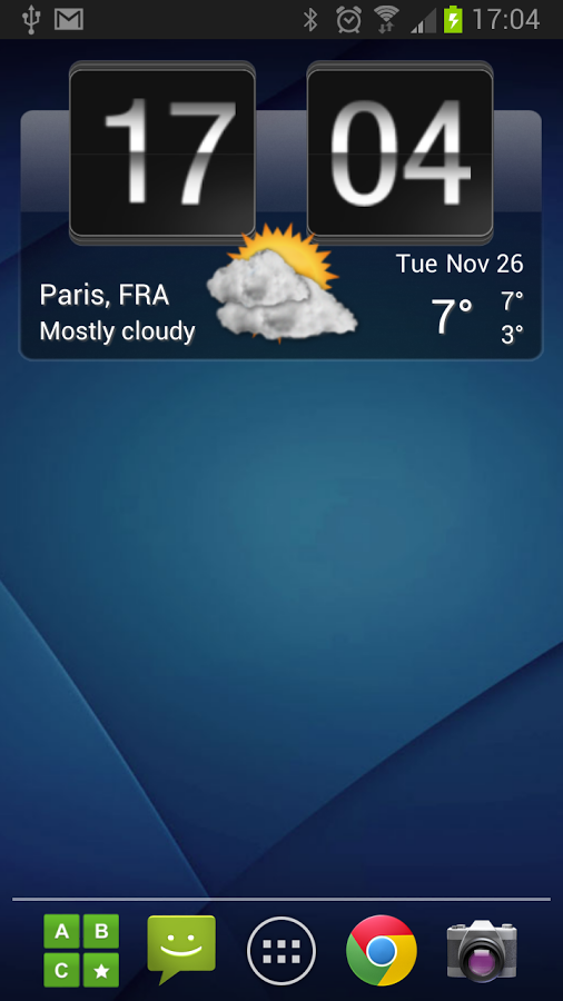 Sense Flip Clock & Weather » Apk Thing - Android Apps Free