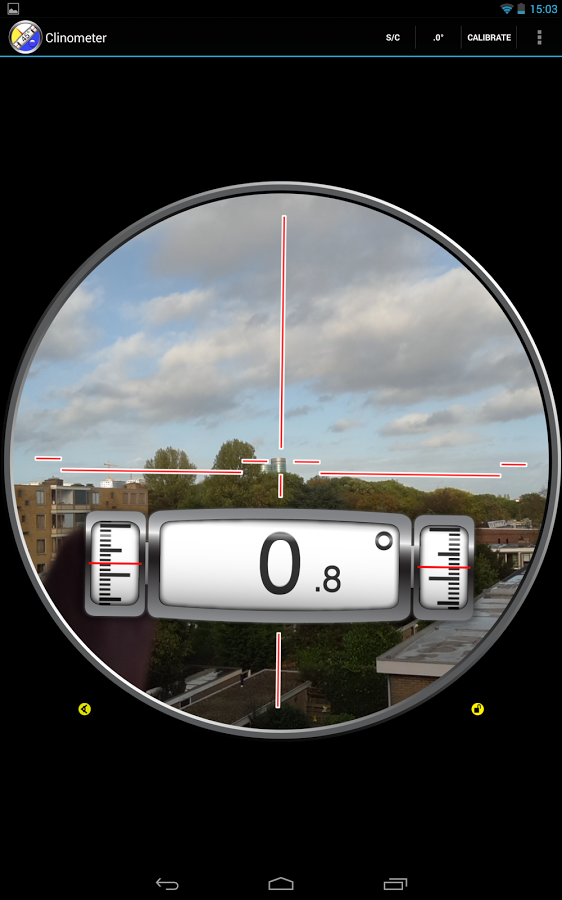 Clinometer + bubble level » Apk Thing - Android Apps Free Download