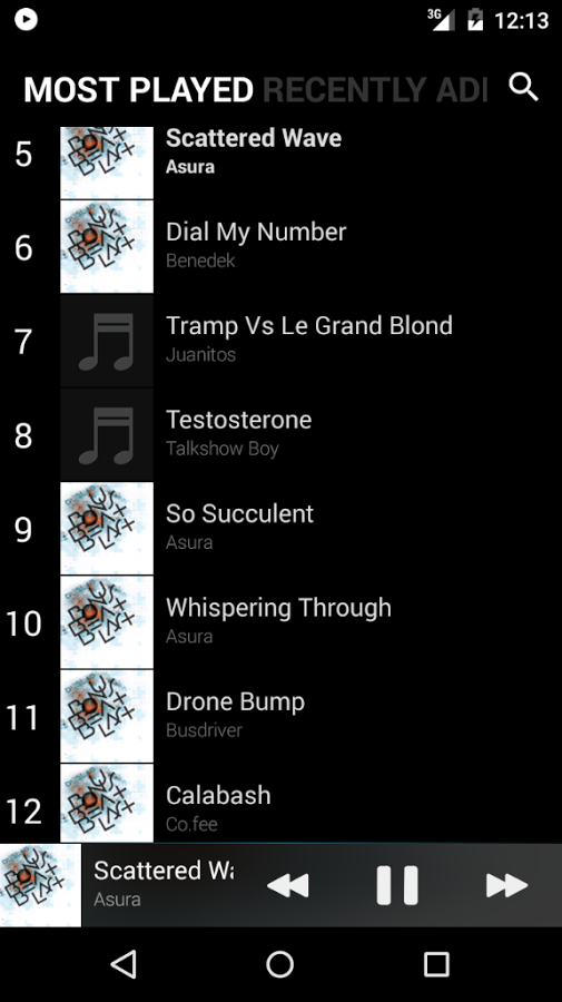 BlackPlayer Music Player » Apk Thing - Android Apps Free