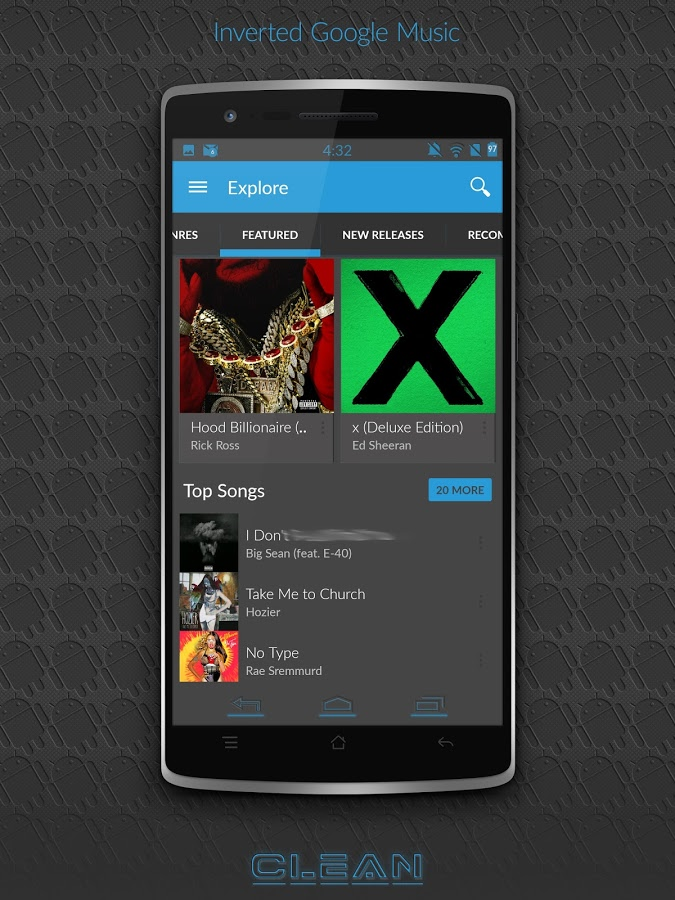 BigDX Clean Theme CM11 AOKP » Apk Thing - Android Apps Free