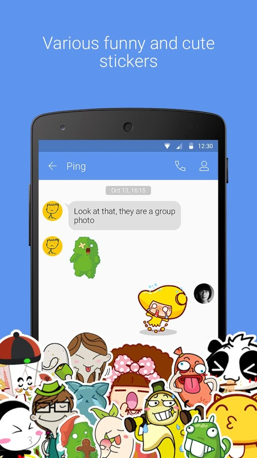 GO SMS Pro - Free Themes & MMS » Apk Thing - Android Apps Free Download