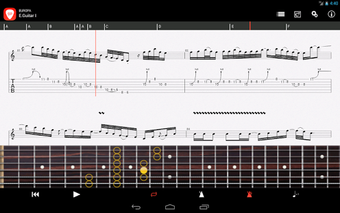 through the fire and flames tab guitar pro