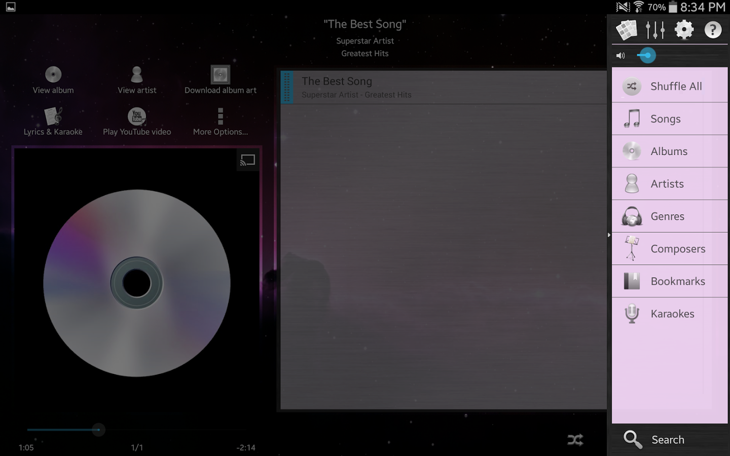 Music Player (Remix) » Apk Thing - Android Apps Free Download