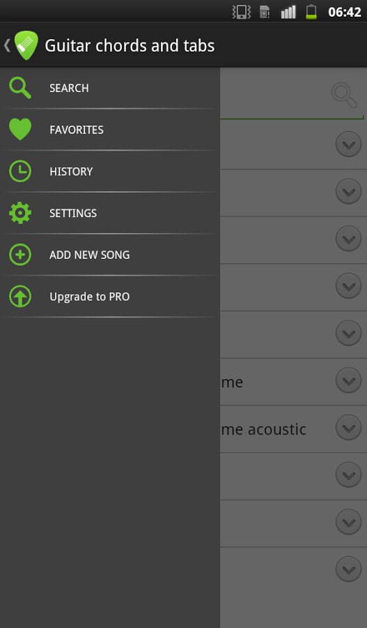 Guitar Chords And Tabs Apk Thing Android Apps Free Download
