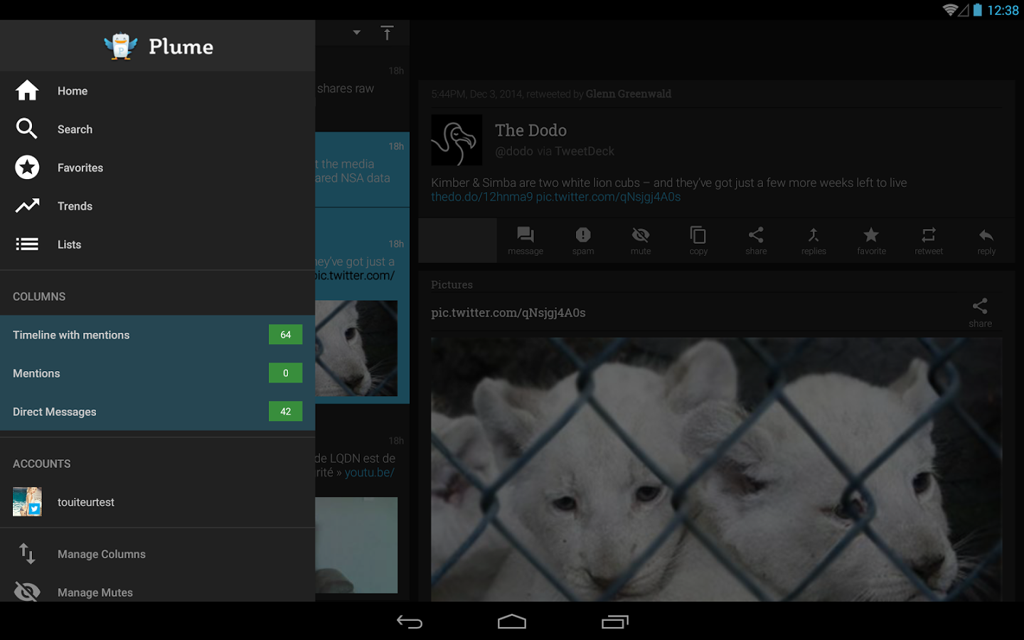 Plume for Twitter » Apk Thing - Android Apps Free Download
