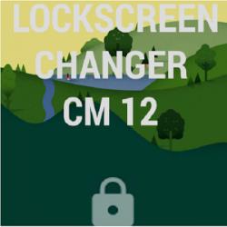 Lock screen changer CM12