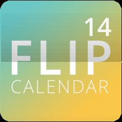 Flip Calendar + Widget 2014