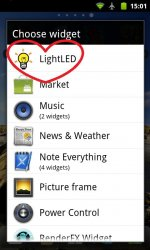 Lite LED (Flashlight Widget)