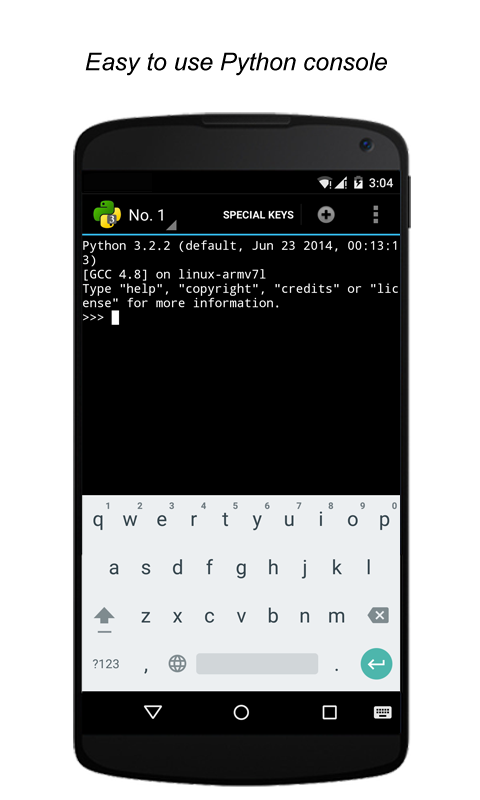writing apps for android in python While you can write react native apps for ios and android, this tutorial only covers  python is needed to run the react native build scripts.