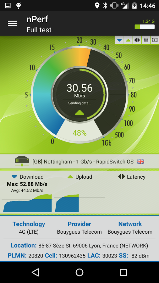 Speed Test & QoS 3G 4G WiFi » Apk Thing - Android Apps ...