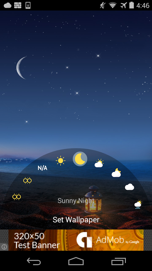 ... Weather Live Wallpaper 2015 ...