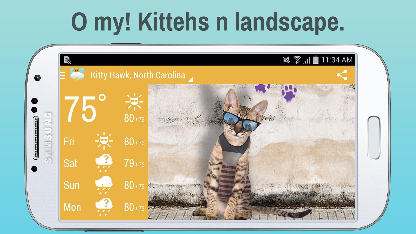 Weather Whiskers App & Widget » Apk Thing - Android Apps