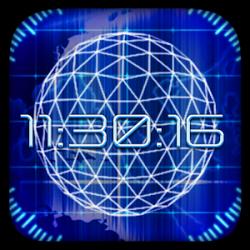 Radar Digital Clock