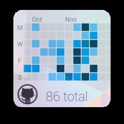 GitHub Contributions Widget