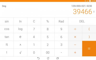 ASUS Calculator