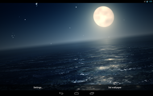 ocean at night live wallpaper 187 apk thing android apps
