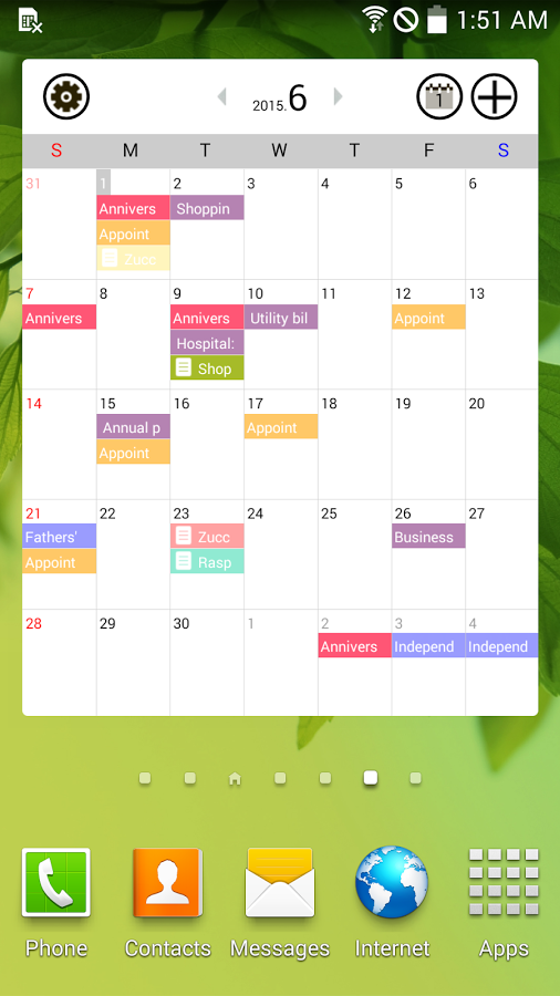 good calendar schedule memo apk thing android apps free download