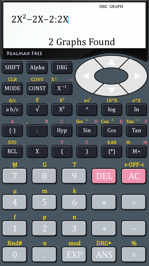 Casio calculator for android.