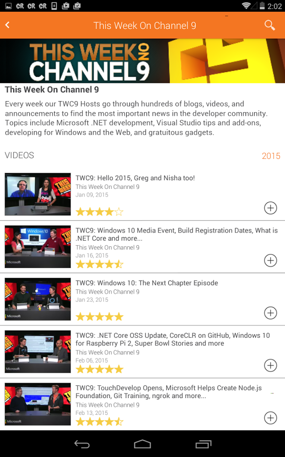 Microsoft Channel 9 » Apk Thing - Android Apps Free Download