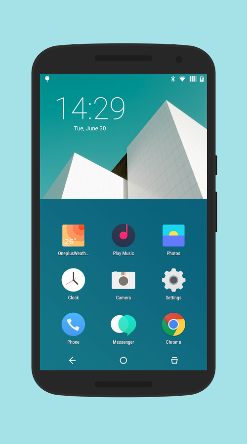 H2os CM12/CM12 1 Theme » Apk Thing - Android Apps Free Download
