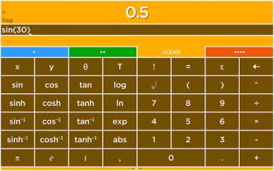 Solve - A colorful calculator