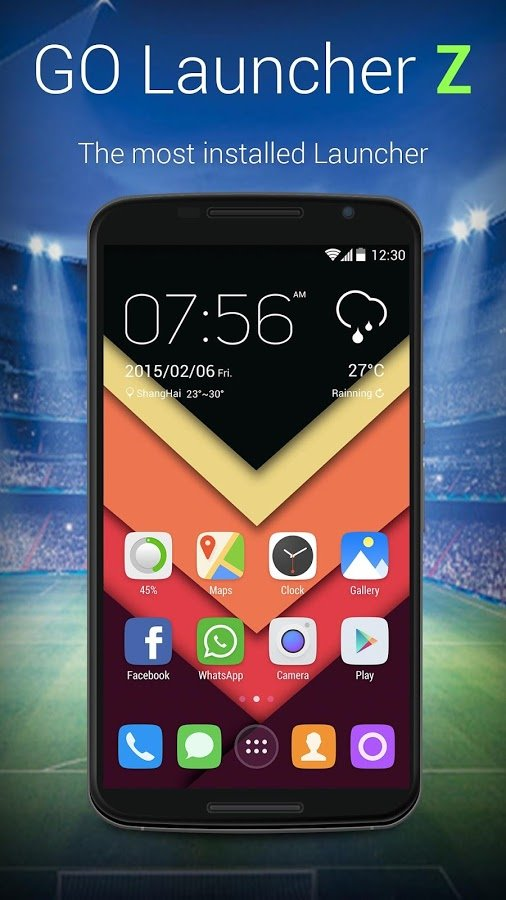 go launcher pro apk free download for android