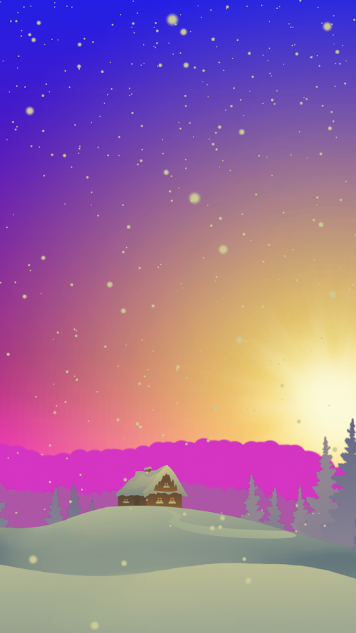 parallax winter live wallpaper apk thing android apps