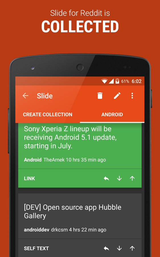 Slide for Reddit » Apk Thing - Android Apps Free Download