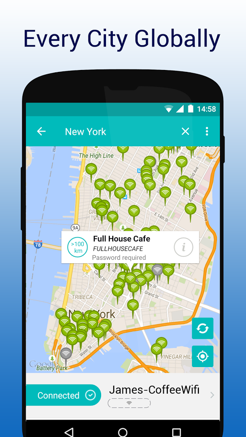 Free Wifi Nyc Map.Wifimapper Free Wifi Map Apk Thing Android Apps Free Download