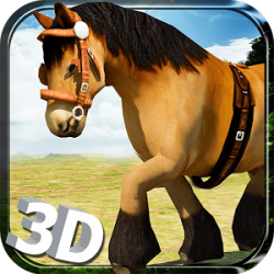 Wild Horse Simulator- 3D Run