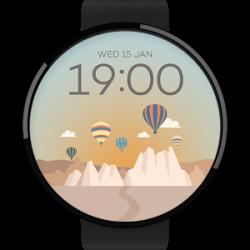 Cappadocia watchface