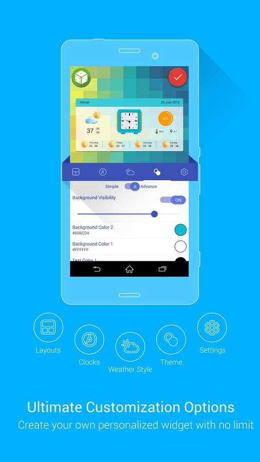 Weather 360 + widgets & clocks » Apk Thing - Android Apps