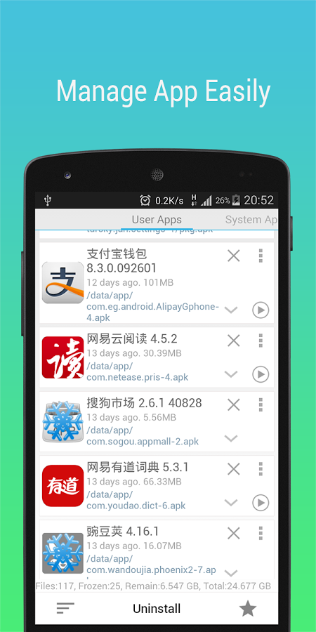 App Master(Uninstall Master) » Apk Thing - Android Apps Free